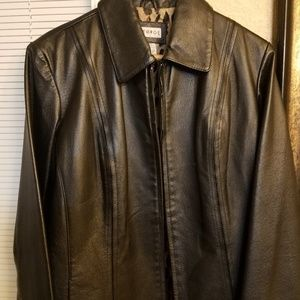 George Leather Women's Coat suze 4-6